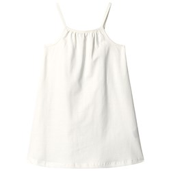 A Happy Brand Gathered Dress White