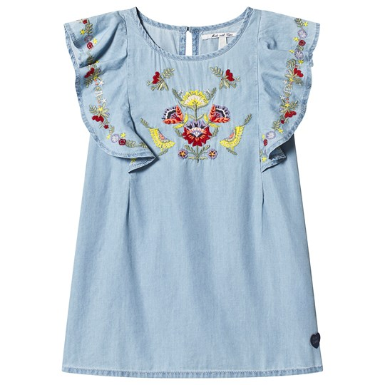 Pepe Jeans Jayla Embroidered Dress Blue 551