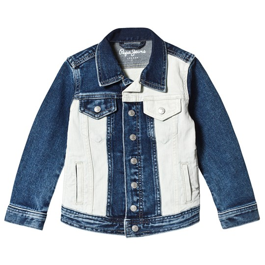 Pepe Jeans Bobby Jacket Blue and White 000