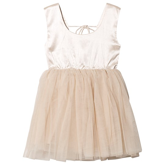 DOLLY by Le Petit Tom Signature Ballet Dress Coffee COFFEE