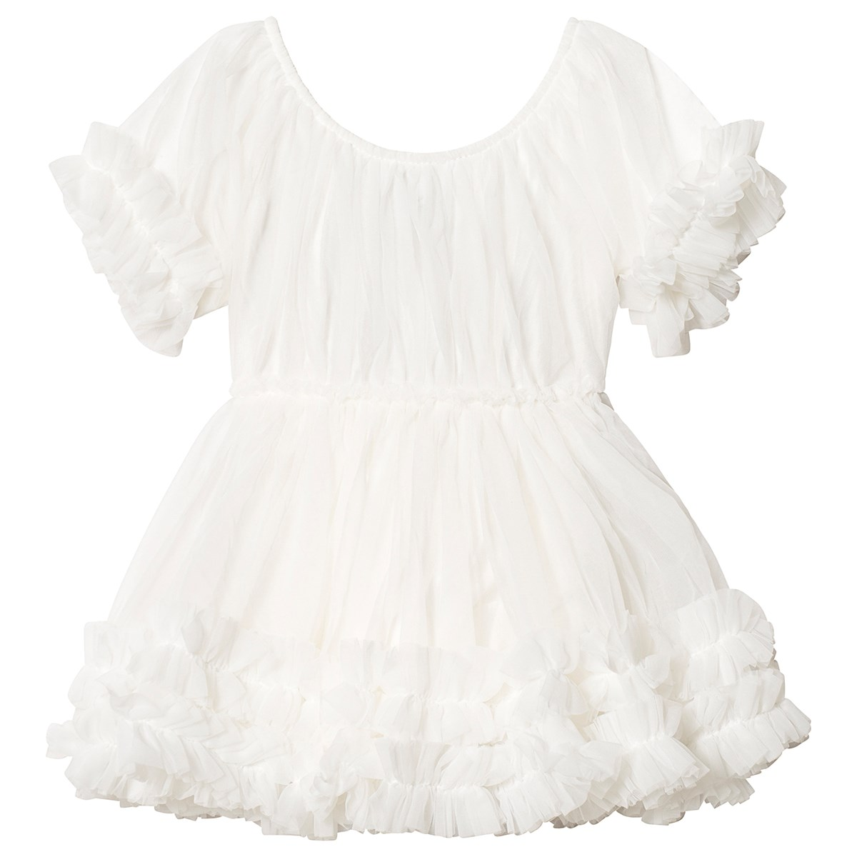 d04d51cee0 DOLLY by Le Petit Tom - Frilly Dress Off White - Babyshop.com
