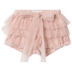 DOLLY by Le Petit Tom Frilly Bloomers Ballet Pink