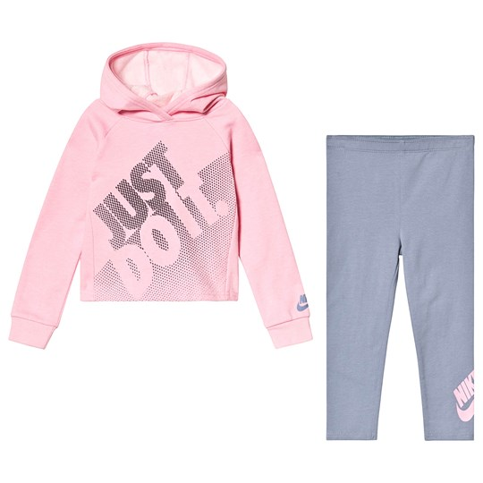 NIKE Just Do It Set Pink/Grey U9E