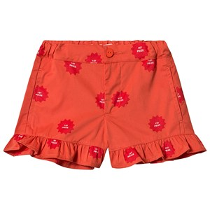 Image of Tinycottons 1st Prize Frills Shorts Deep Red/Red 10 år (3127576669)