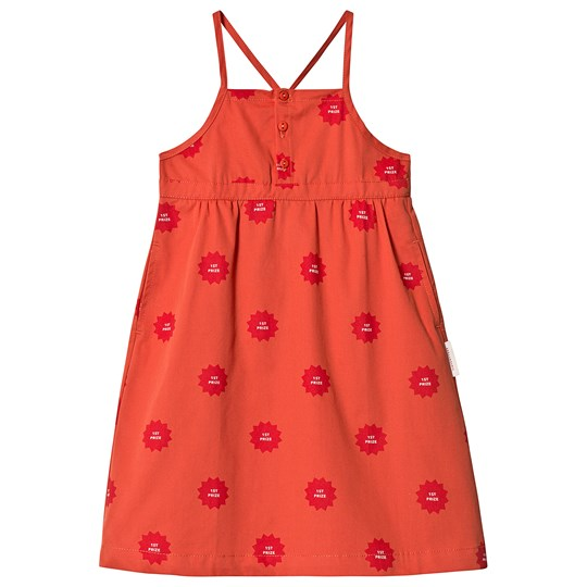 Tinycottons 1st Prize Dress Deep Red/Red deep red/red