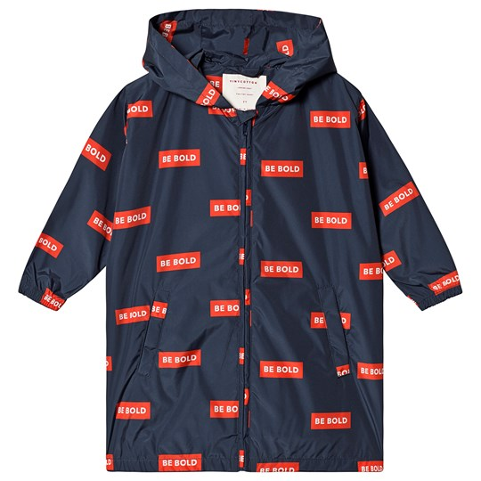Tinycottons Smile Windbreaker Navy/Red Navy/Red