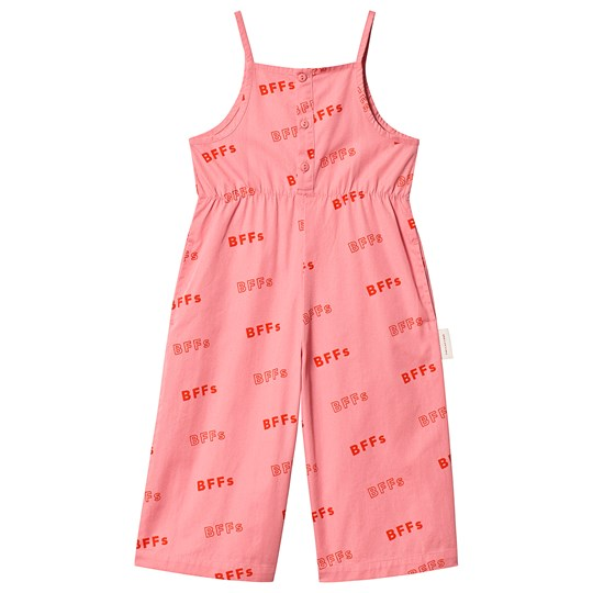 Tinycottons BFFs Jumpsuit Rose/Red rose/red