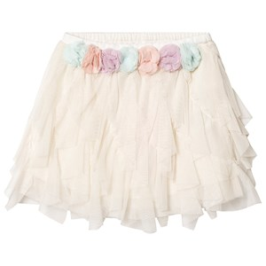 Image of Billieblush Floral Tulle Skirt Off White 10 years (3126772119)