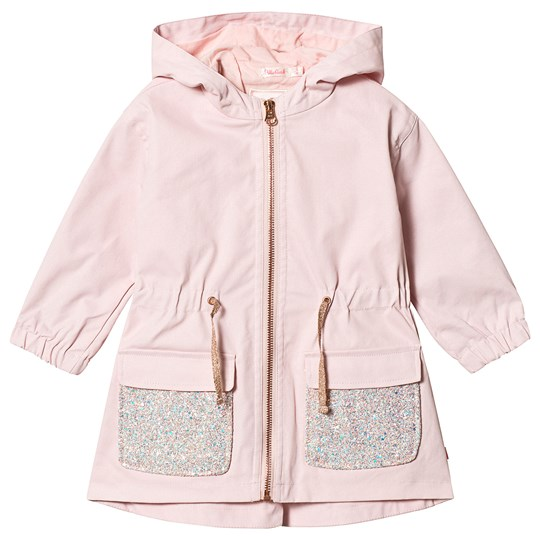 Billieblush Glitter Parka Light Pink 455