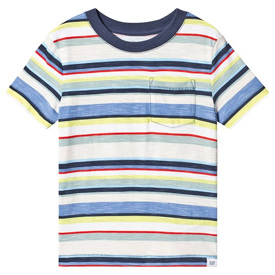 GAP Striped Tee Multi NEW OFF WHITE