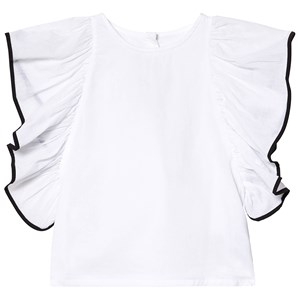 Image of How To Kiss A Frog Bling Top White 4 år (3127590051)