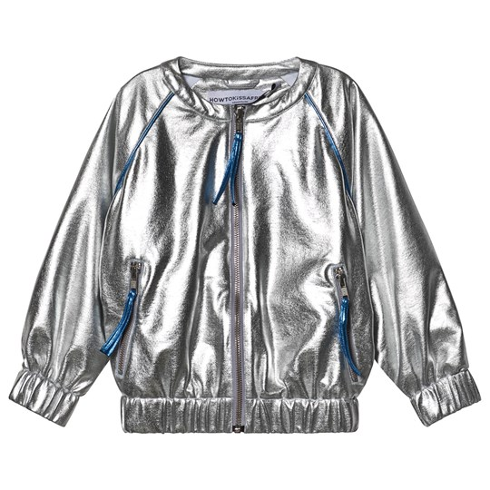 How To Kiss A Frog Winner Jacket Silver Silver