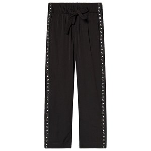 Image of How To Kiss A Frog Speed Pants Black Eyelet Black 10 år (3127585527)