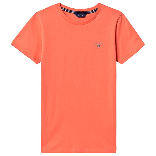 GANT Orange T-shirt med Logo 859