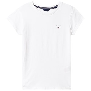 Image of GANT Branded Tee White 122-128cm (7-8 years) (3127531715)