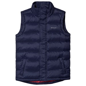 Image of GANT Branded Gilet Navy 122-128cm (7-8 years) (3127535033)