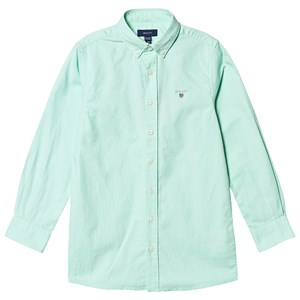 Image of GANT Branded Oxford Shirt Green 122-128cm (7-8 years) (3127535079)