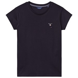Image of GANT Branded Tee Navy 122-128cm (7-8 years) (3127531713)