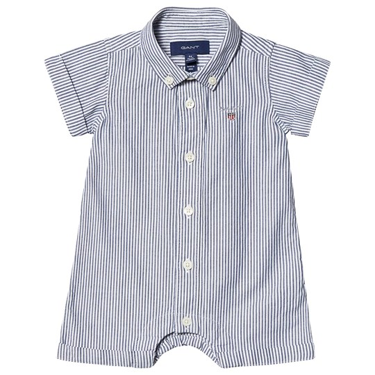 GANT Shirt Romper Navy and White 436