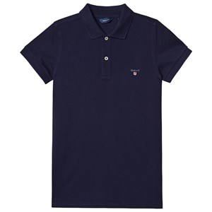Image of GANT Branded Polo Navy 122-128cm (7-8 years) (3127575887)