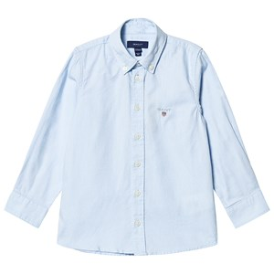 Image of GANT Branded Oxford Shirt Blue 110-116cm (5-6 years) (3127535067)