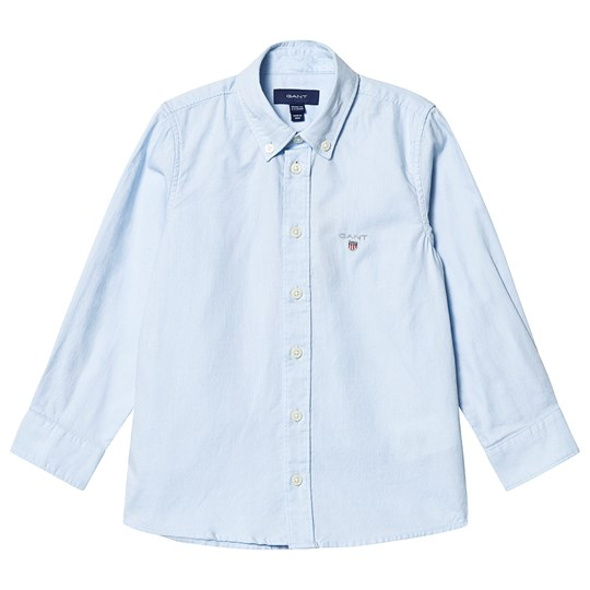 GANT Branded Oxford Skjorta Blå 468