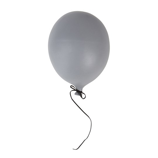 By On Store Ballon Dekoration Grå Sort