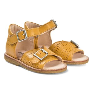 Image of Angulus Buckle Sandals Yellow 25 (UK 8) (3127536165)