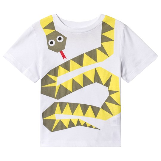 Stella McCartney Kids Snake T-shirt Vit 9082 - White