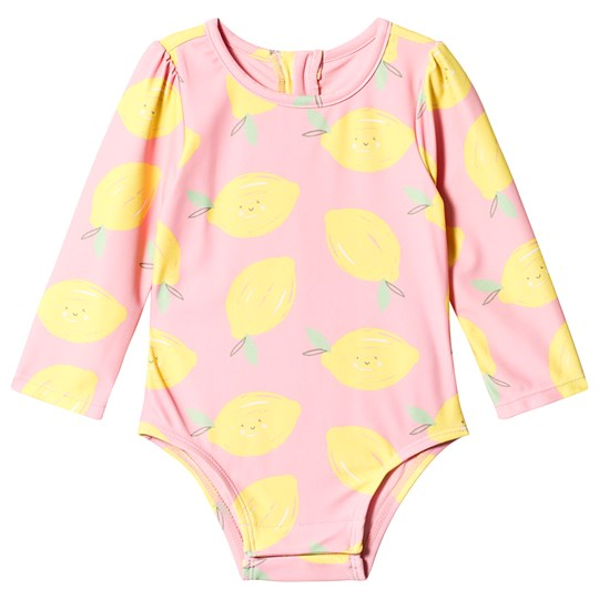 GAP Lemon Swimsuit Pink Belle Pink