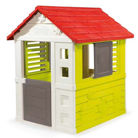 Smoby Nature Playhouse Green