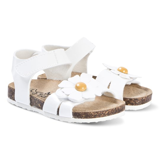 Primigi White Daisy Sandals Bianco