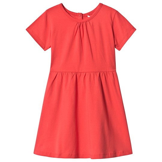 A Happy Brand Short Sleeve Dress Red