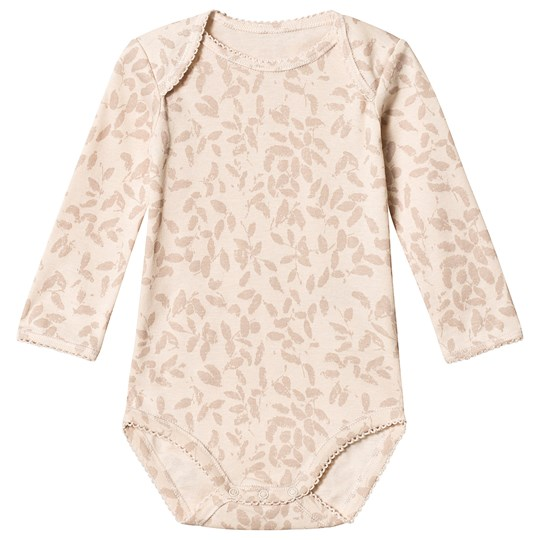 Noa Noa Miniature Long Sleeve Baby Body Vanilla Cream Vanilla Cream
