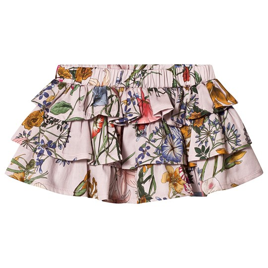 Christina Rohde Frilled Skirt Pale Pink Pale Rose