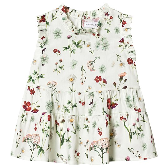 Christina Rohde Floral Dress White White