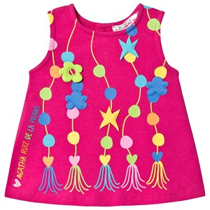 Image of Agatha Ruiz de la Prada Applique Dress Pink 12 months (3129562089)