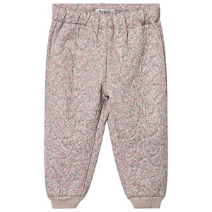 Image of Wheat Alex Thermo Pants Flower 104 cm (3-4 år) (3129563863)