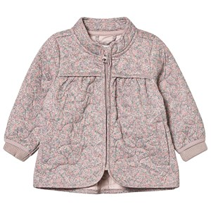 Image of Wheat Thilde Thermo Jacket Flower 128 cm (7-8 år) (3129563853)