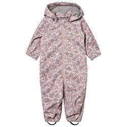 Wheat Blommig Softshell Overall Rose Powder