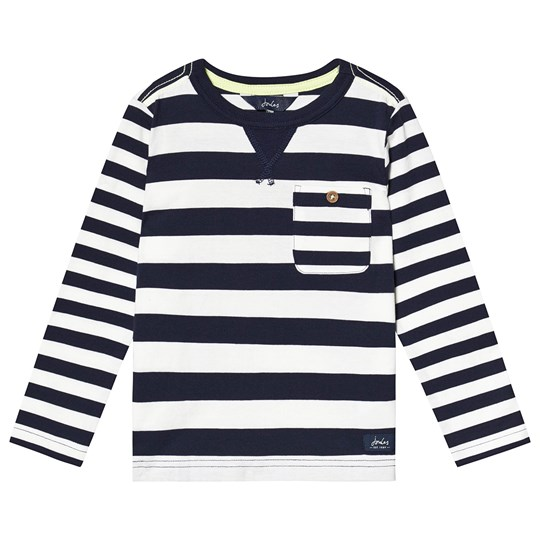 Tom Joule Buckley Långärmad Tröja Multi Cream Navy Stripe