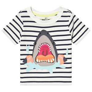 Image of Tom Joule Archie Tee White/Navy 2 years (3129561277)
