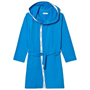 Image of Calvin Klein Branded Robe Blue L (10-14 years) (3129561725)