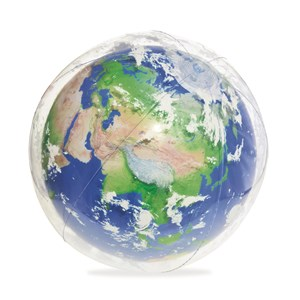 Image of Bestway Earth Explorer Light-Up Beach Ball 61 cm 24 months - 4 years (3131980895)