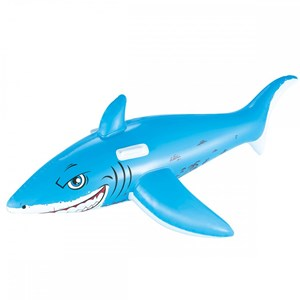 Image of Bestway Great White Shark Ride-On Pool Float 183 x 102 cm 3 - 5 years (3131980777)