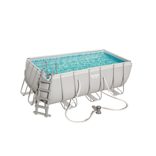 Bestway Power Steel Frame Pool, 8 124 L, 412x201x122 cm