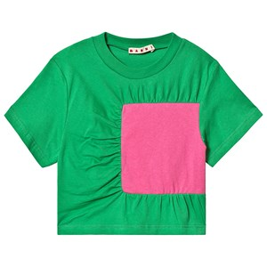 Image of Marni Square Patch Tee Green 4 years (3129564463)