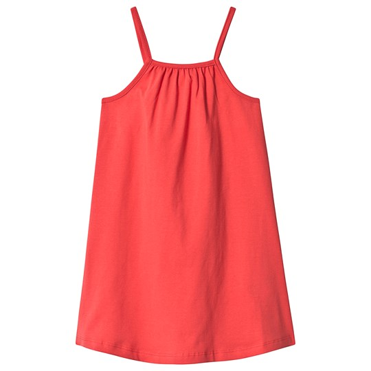 A Happy Brand Gathered Dress Red