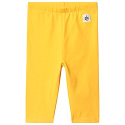 A Happy Brand Capri Leggings Yellow