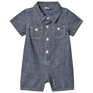 Image of GAP Romper Chambray 12-18 mdr (3131981095)